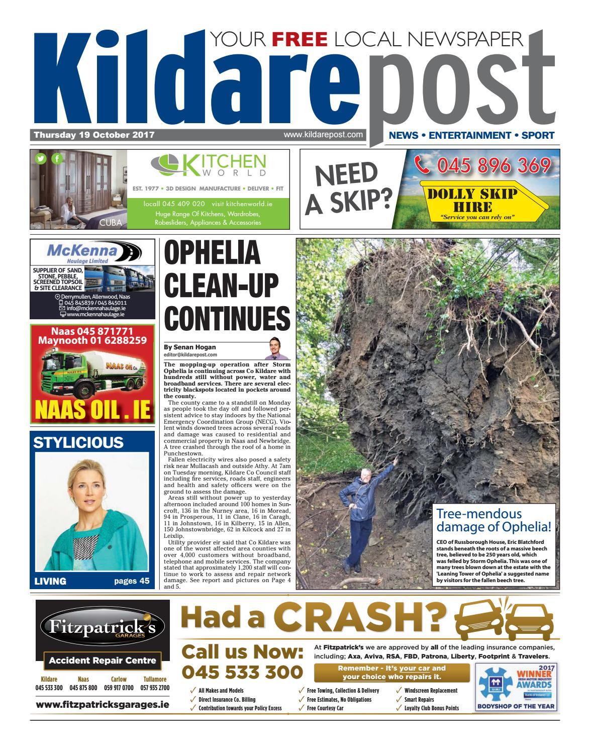 Kildare Post 19 10 17 By River Media Newspapers Issuu 1987 Mercedesbenz 300d Body Wiring Harness Contact Bridge Genuine