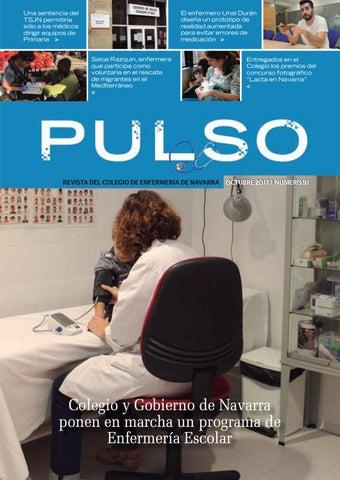 Pulso 91 by Colegio de Enfermería de Navarra - issuu
