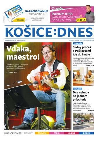 KOŠICE DNES 19.10.2017 by KOŠICE DNES - issuu 92619806a4d