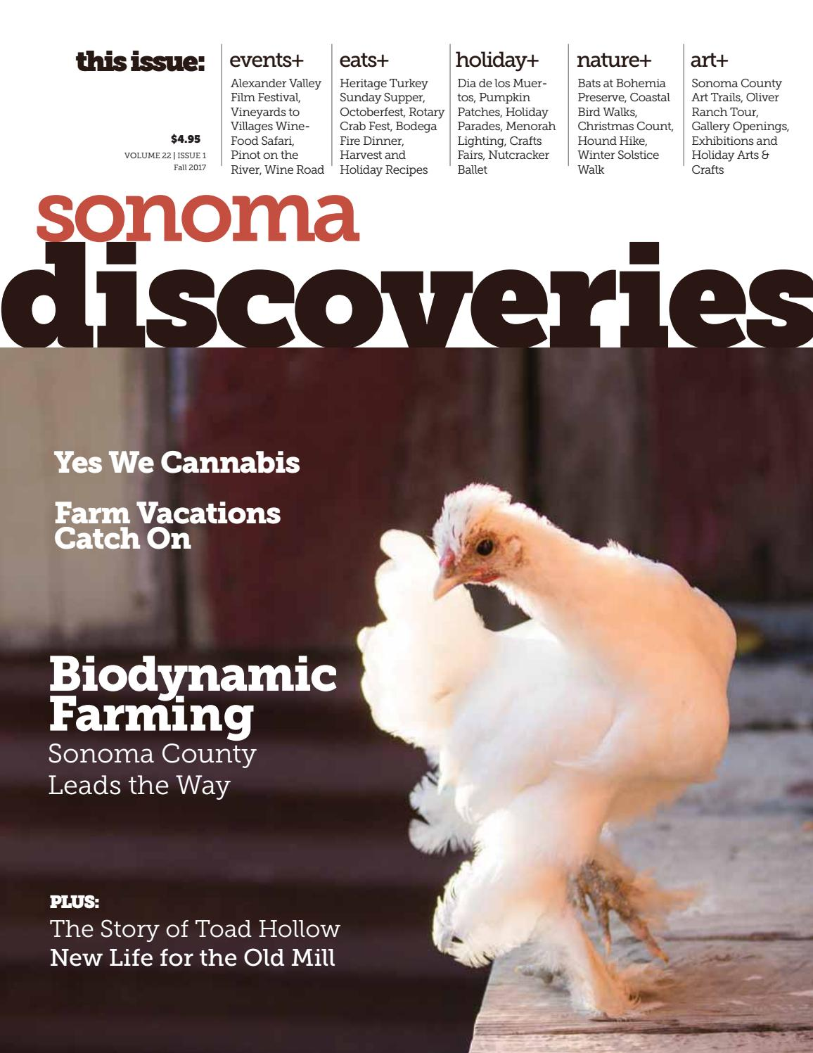 Sonoma Discoveries Fall 2017