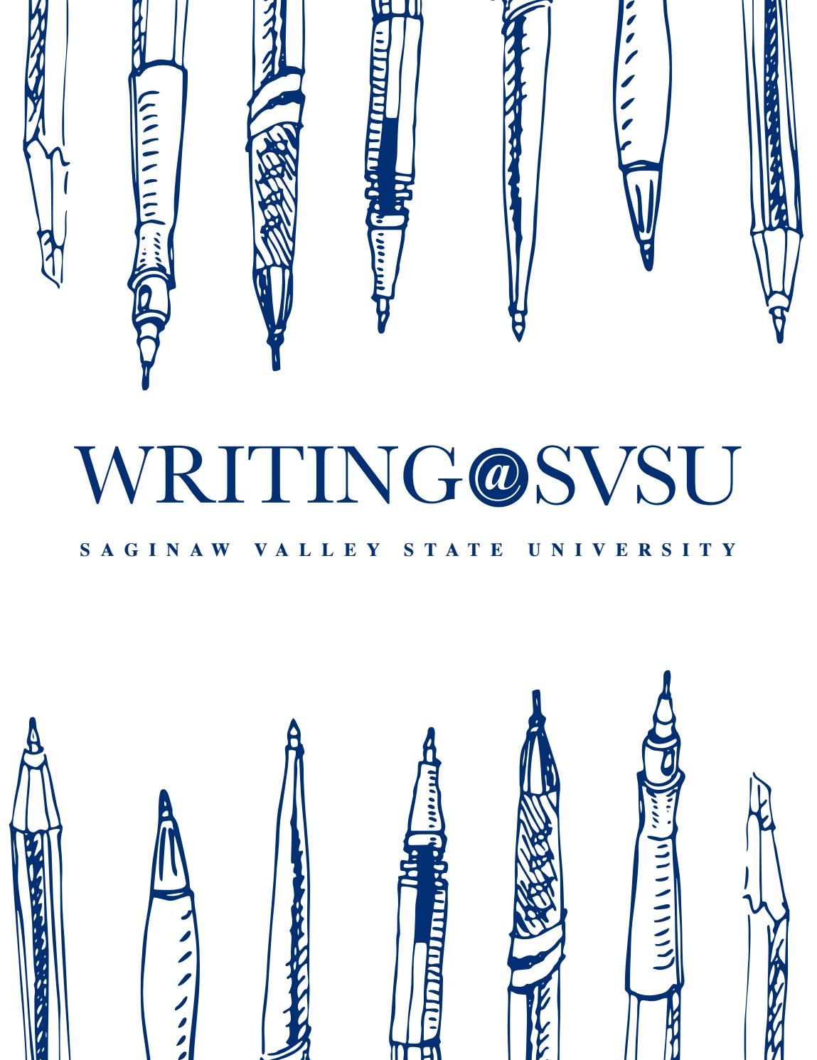 Writing At Svsu 2016 17 By Saginaw Valley State University Issuu Archive Through November 30 2006 Bypassing Parking Brake Feature