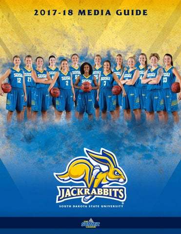 a452d88e5b1d 2017-18 South Dakota State Women s Basketball Media Guide by South ...