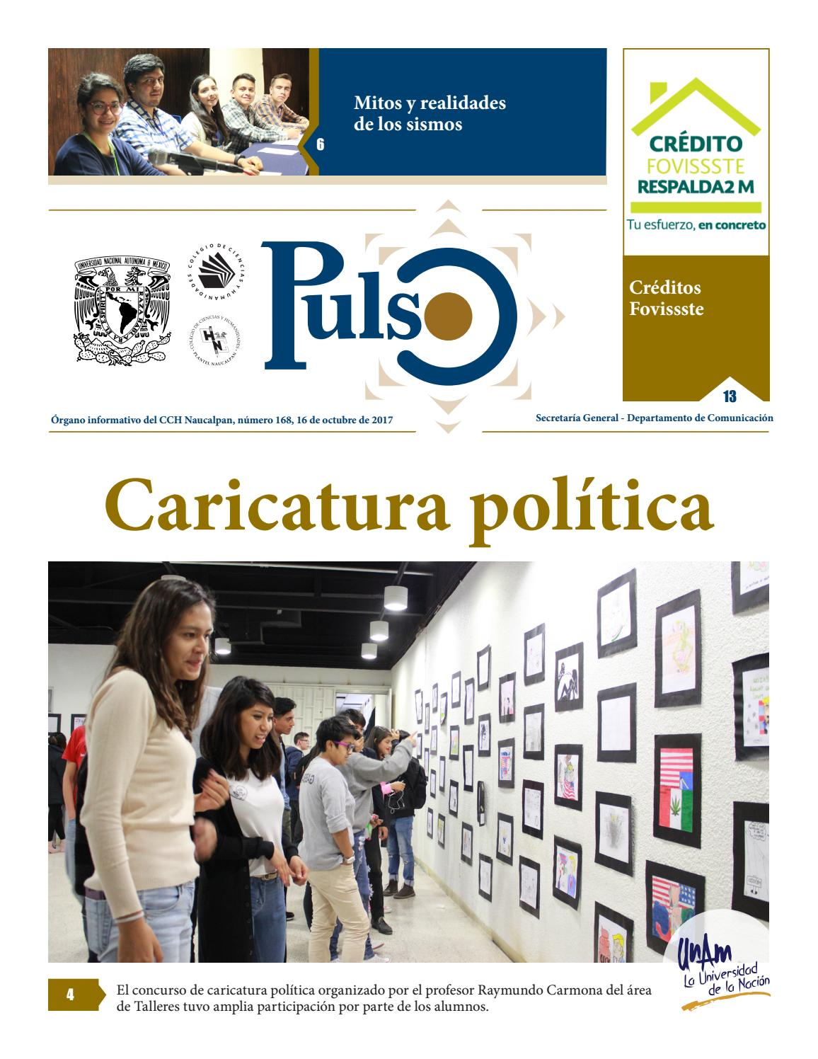 Pulso 168 by Pulso CCH Naucalpan - issuu