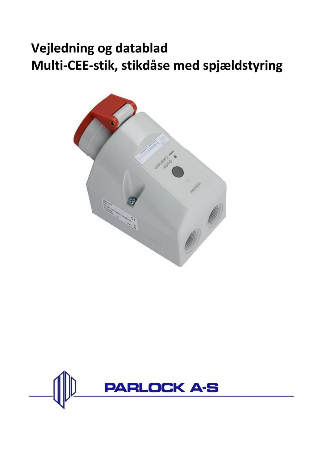 Fin Start / Stop automatik by Parlock A-S - issuu DS-35