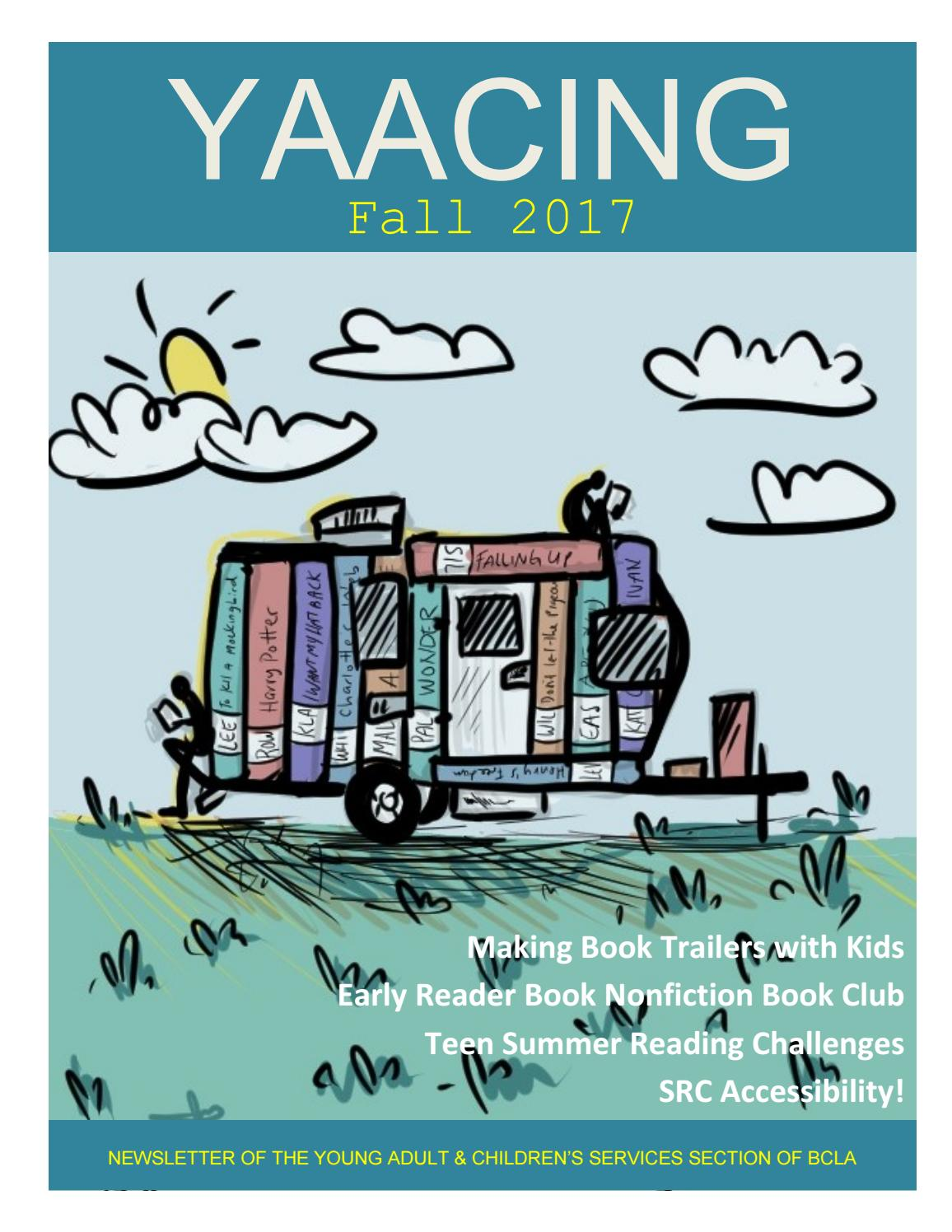 YAACING Fall 2017 by Young Adults and Children\'s Services - issuu