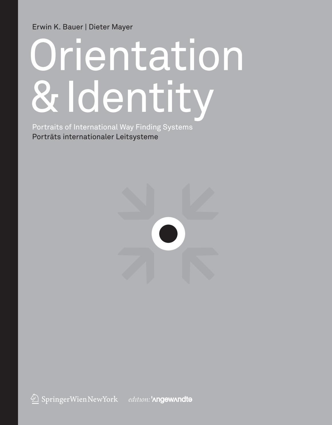 Orientation & Identity by STRUKTIV - Büro für Gestaltung - issuu
