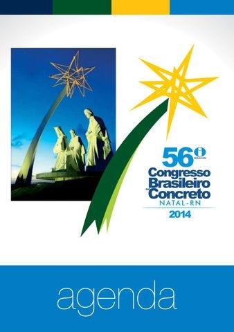 dca5cbf7bf209 Agenda 56º Congresso Brasileiro do Concreto IBRACON 2014 by Gill ...