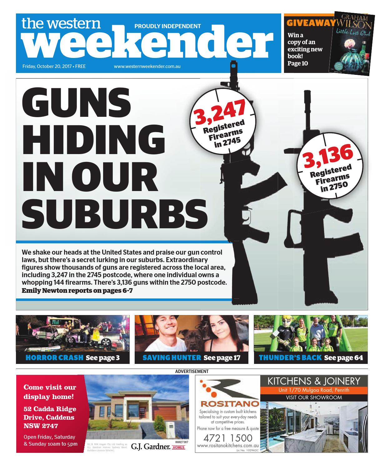 Western Weekender October By Western Sydney Publishing Group Issuu