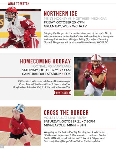 Varsity Magazine October 18 2017 By Wisconsin Badgers Issuu