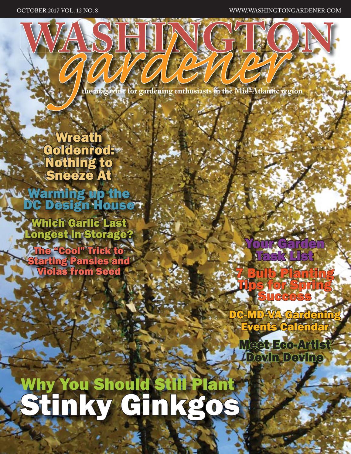 Washington Gardener October 2017 by Kathy J - issuu