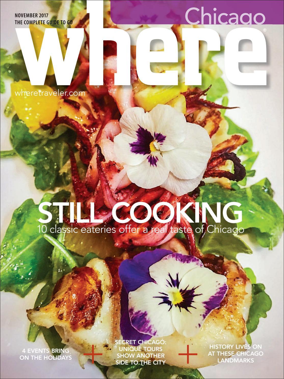 Where Magazine Chicago Nov 2017 by Morris Media Network - issuu