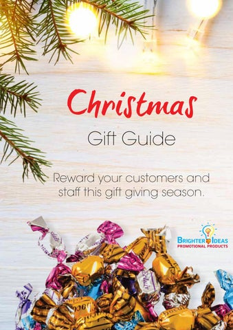 Christmas Gift Guide Catalogue.Christmas Gift Guide Catalogue 2017 By Brighter Ideas Issuu