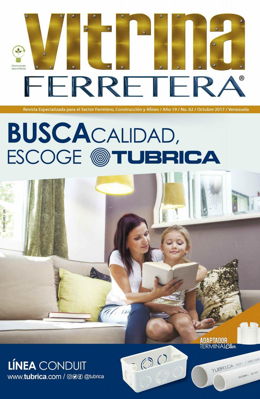 Revista Vitrina Ferretera No 62 Y Directorio Nacional Ferretero  # Muebles Leviton Rosario