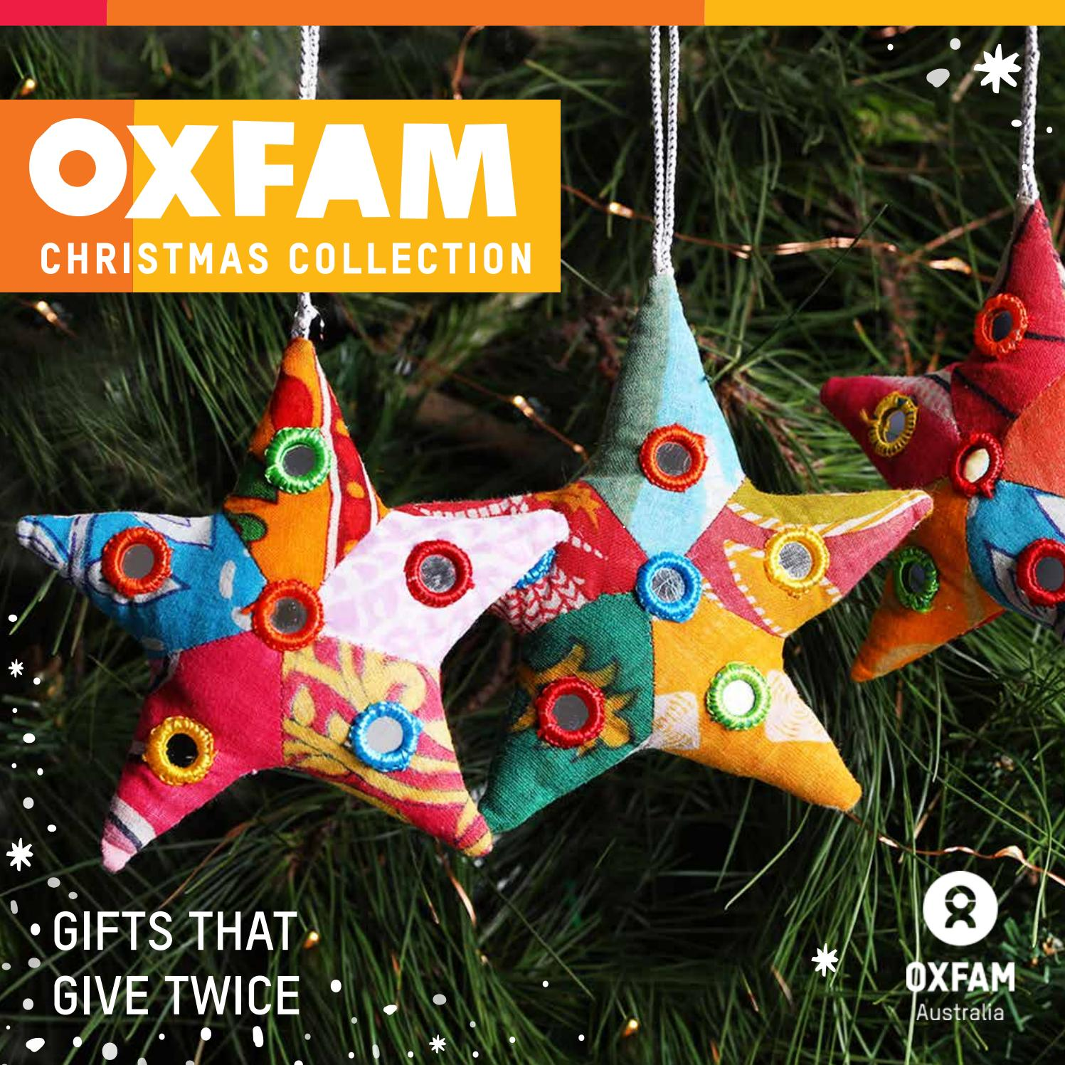 Oxfam Christmas Trees: Oxfam Shop 2017 Christmas Catalogue Online By Oxfam Shop