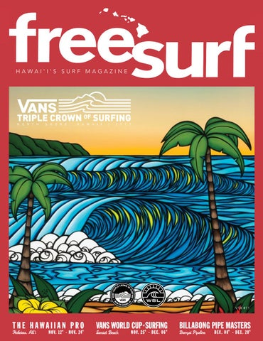 041add85fd V14n11 Van s Triple Crown of Surfing 2017 by Freesurf Magazine - issuu