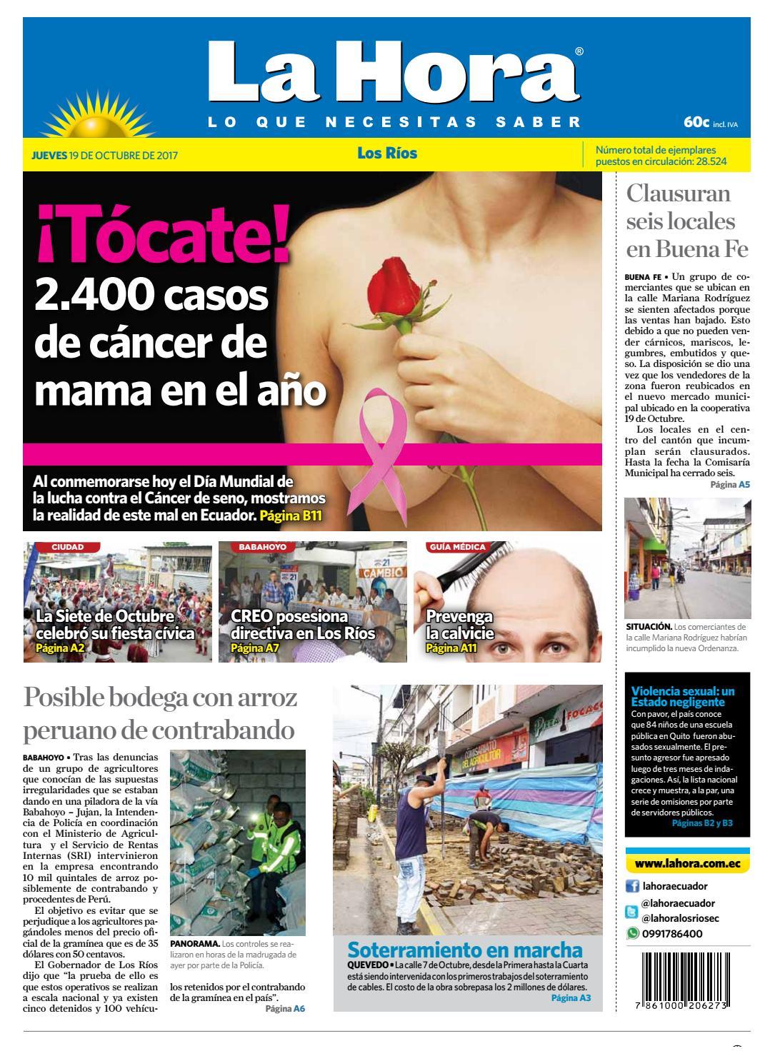 Los Ríos 19 de octubre de 2017 by Diario La Hora Ecuador - issuu