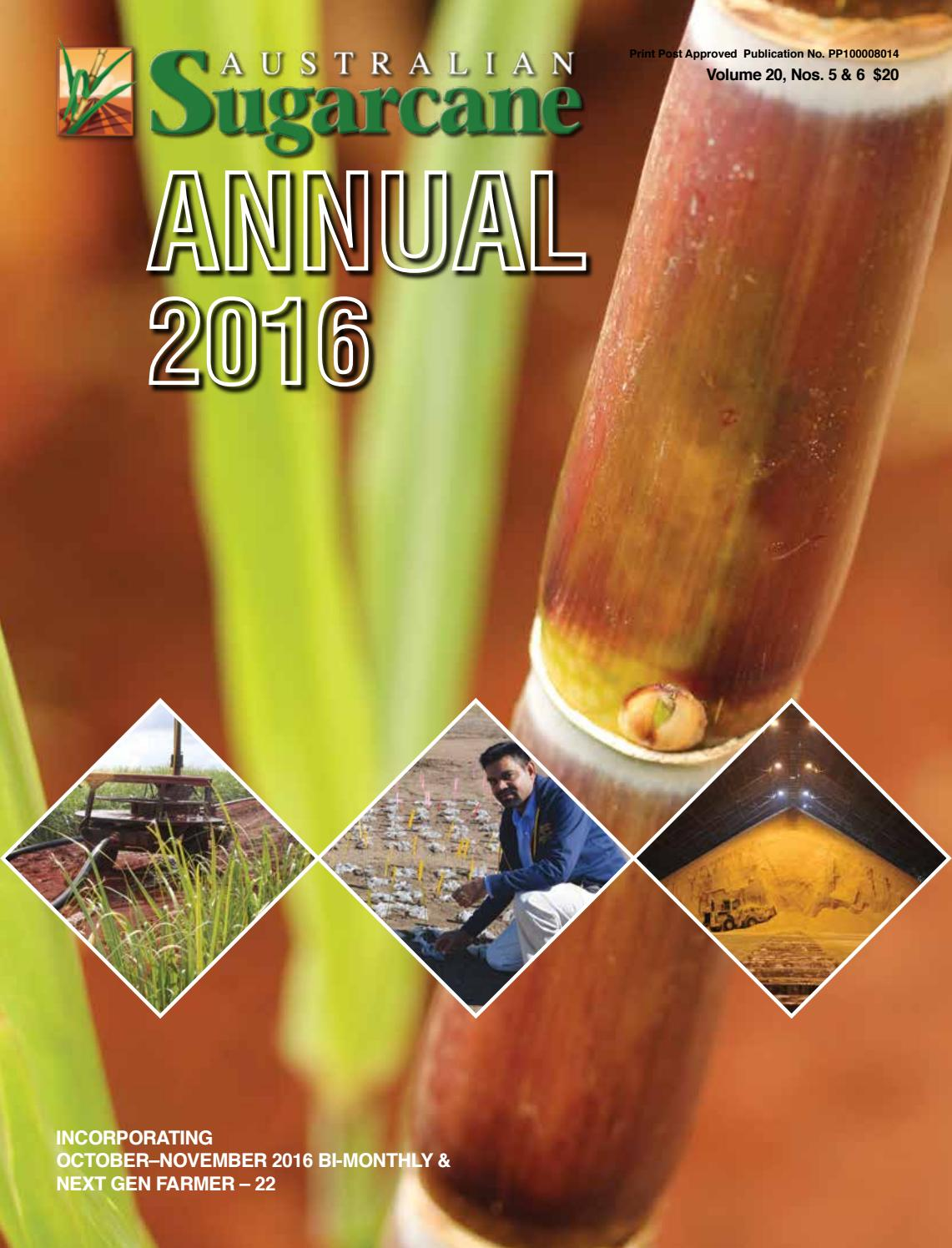Sugarcane Annual 2016 By Greenmount Press Issuu