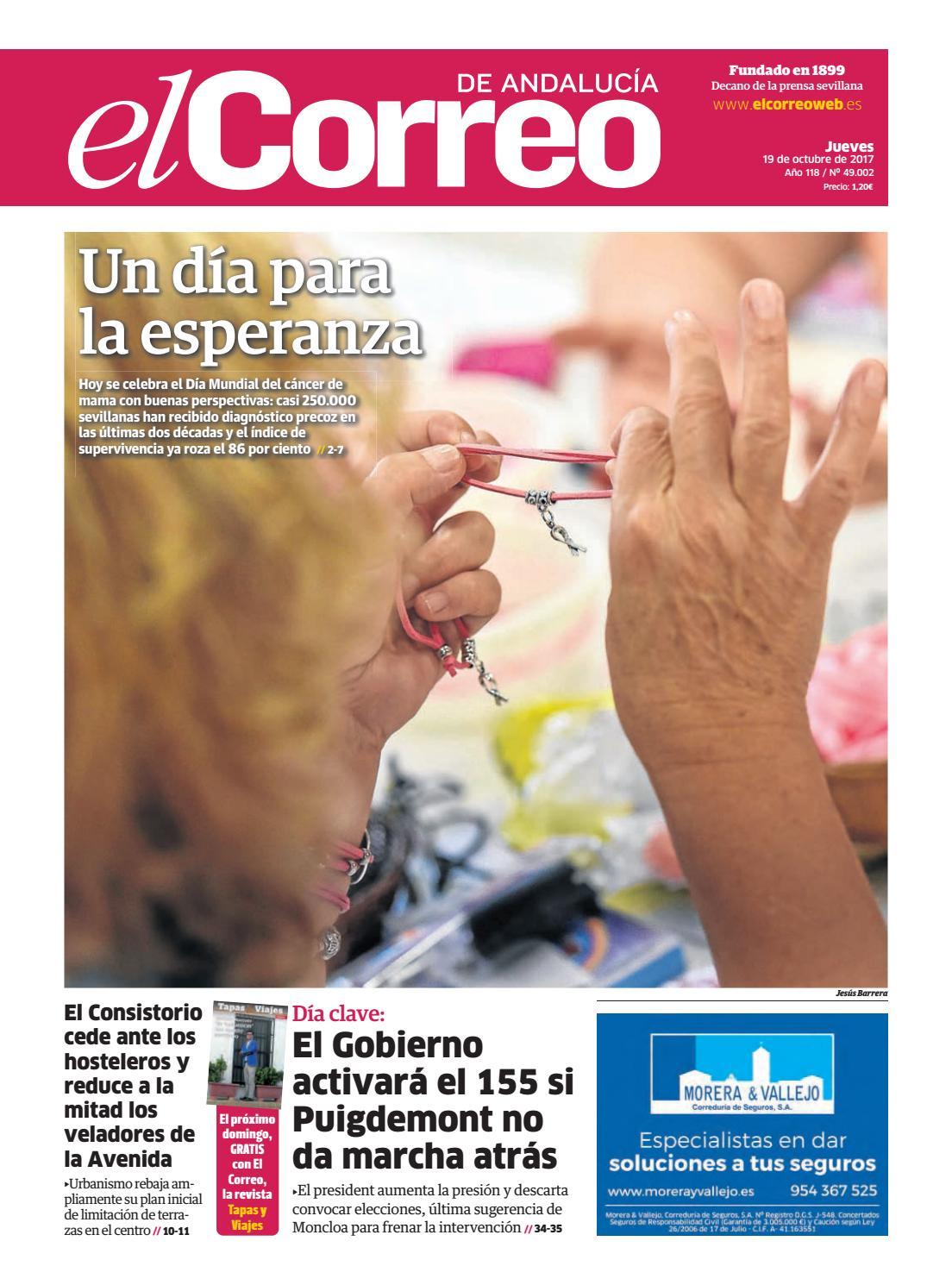 19.10.2017 El Correo de Andalucía by EL CORREO DE ANDALUCÍA S.L. - issuu
