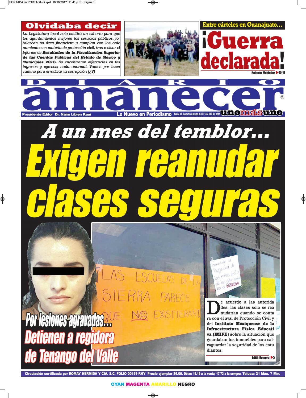 Octubre 19 de 2017 by Diario Amanecer - issuu