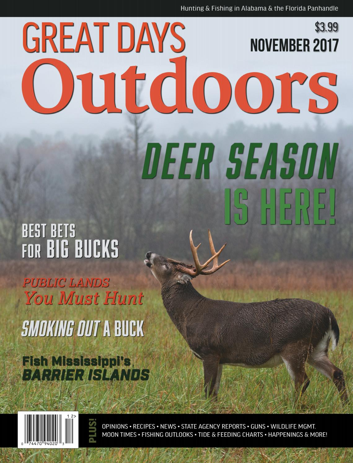 Great Days Outdoors - November 2017 by TrendSouth Media - issuu