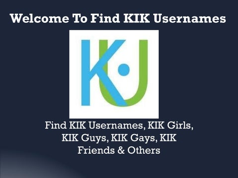 People to kik girls