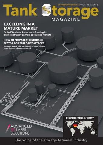 Tank Storage Magazine Oct/Nov 2017 issue 5 vol 13 by Tank