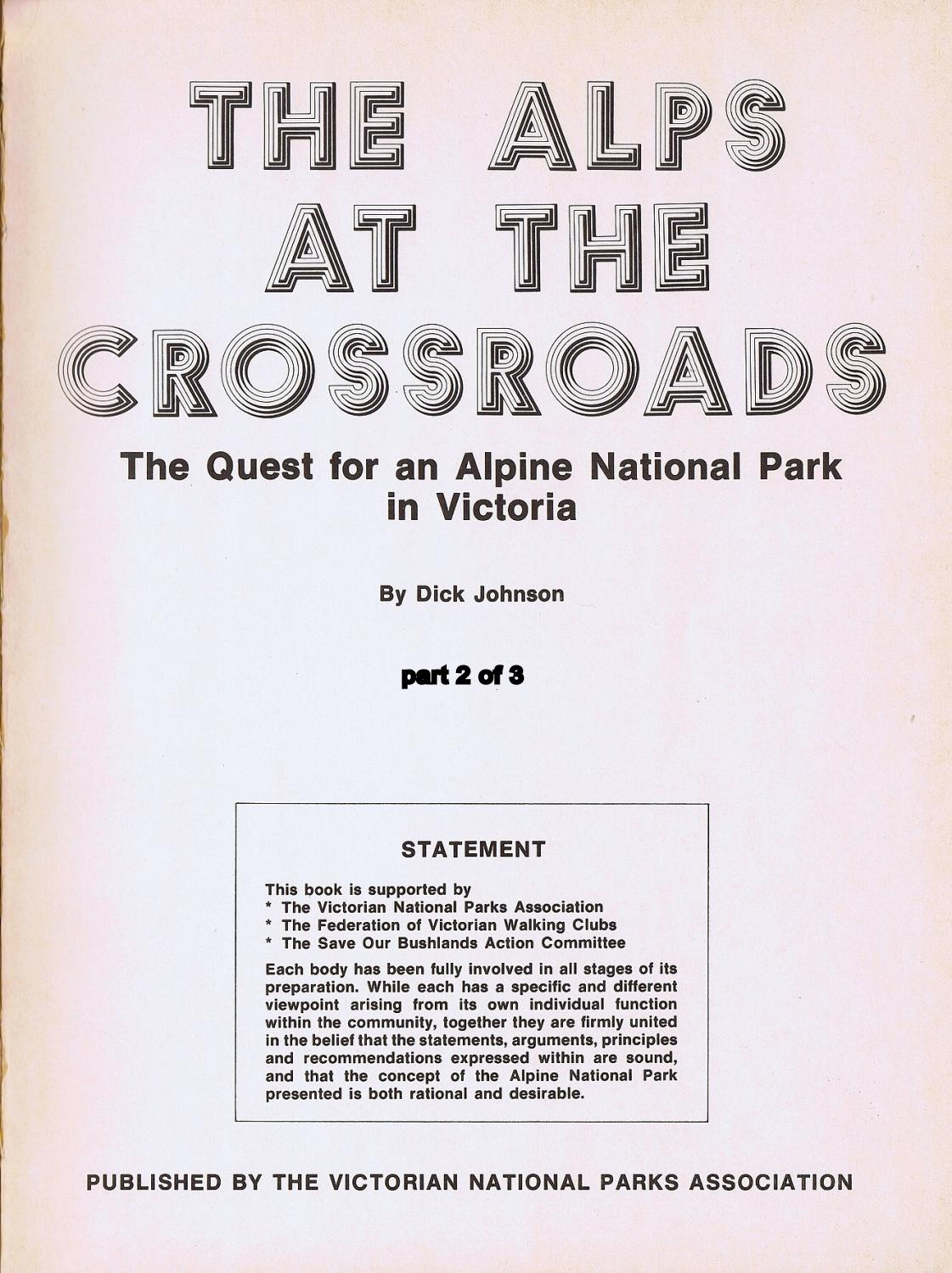 Alps at the Crossroads part 2 of 3 by Graeme Butler - issuu