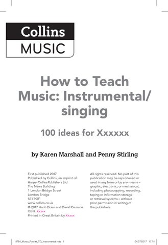 Troy murray ebook by troym09 issuu how to teach music instrumental singing fandeluxe Image collections