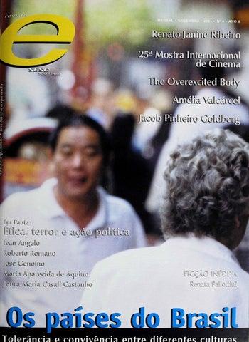 Revista E - Novembro de 2001 - ANO 8 - Nº 4 by Sesc em São Paulo - issuu 531f3e4456a91