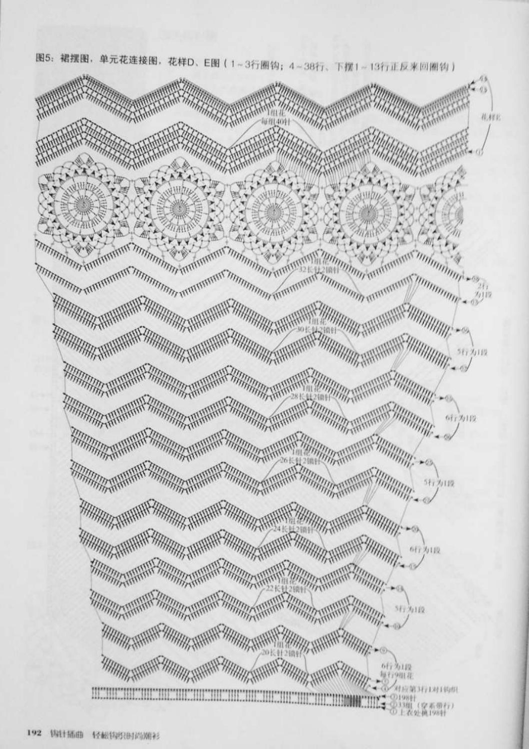 Crochet pull élégant vol 12 crochet facile page 113