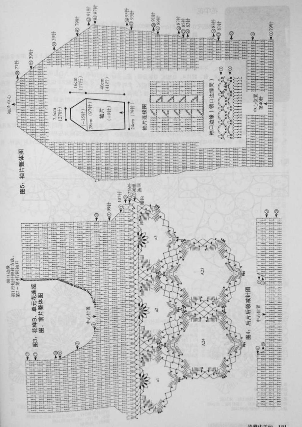 Crochet pull élégant vol 12 crochet facile page 128