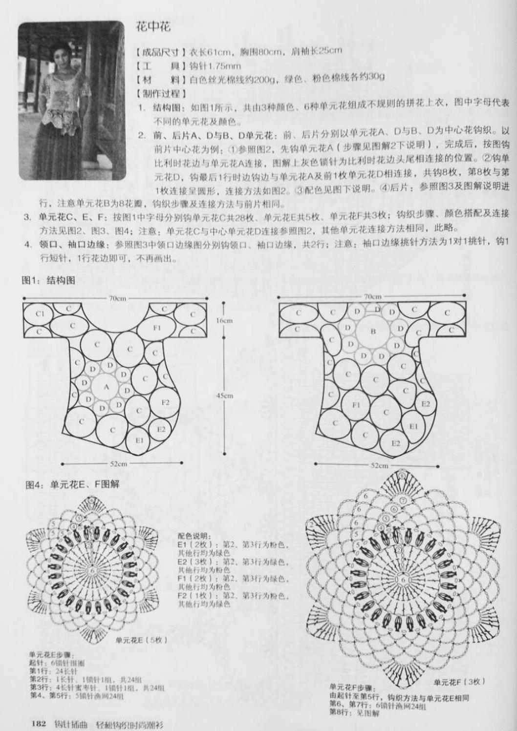 Crochet pull élégant vol 12 crochet facile page 129