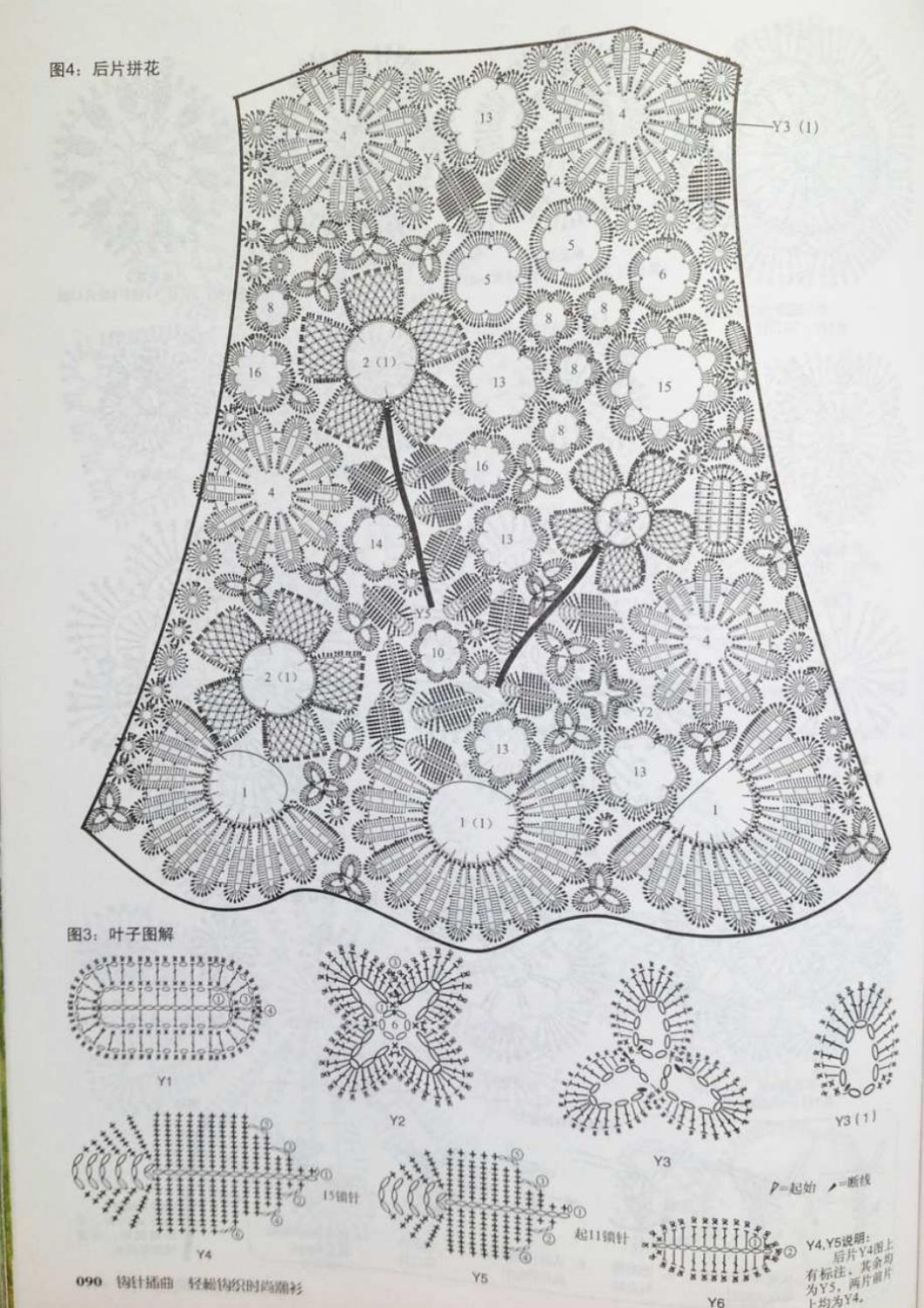 Crochet pull élégant vol 12 crochet facile page 133