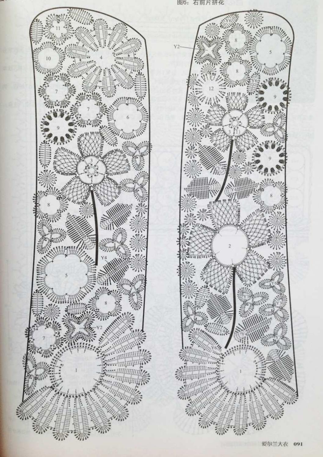 Crochet pull élégant vol 12 crochet facile page 139