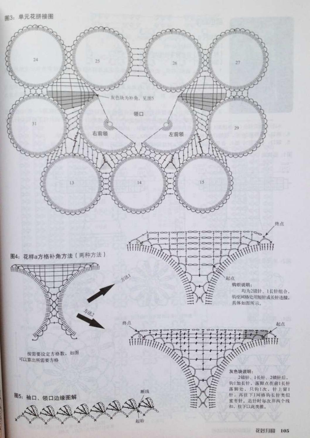 Crochet pull élégant vol 12 crochet facile page 147
