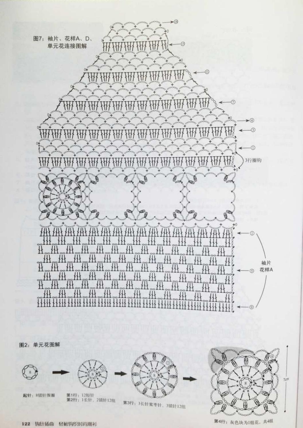 Crochet pull élégant vol 12 crochet facile page 158