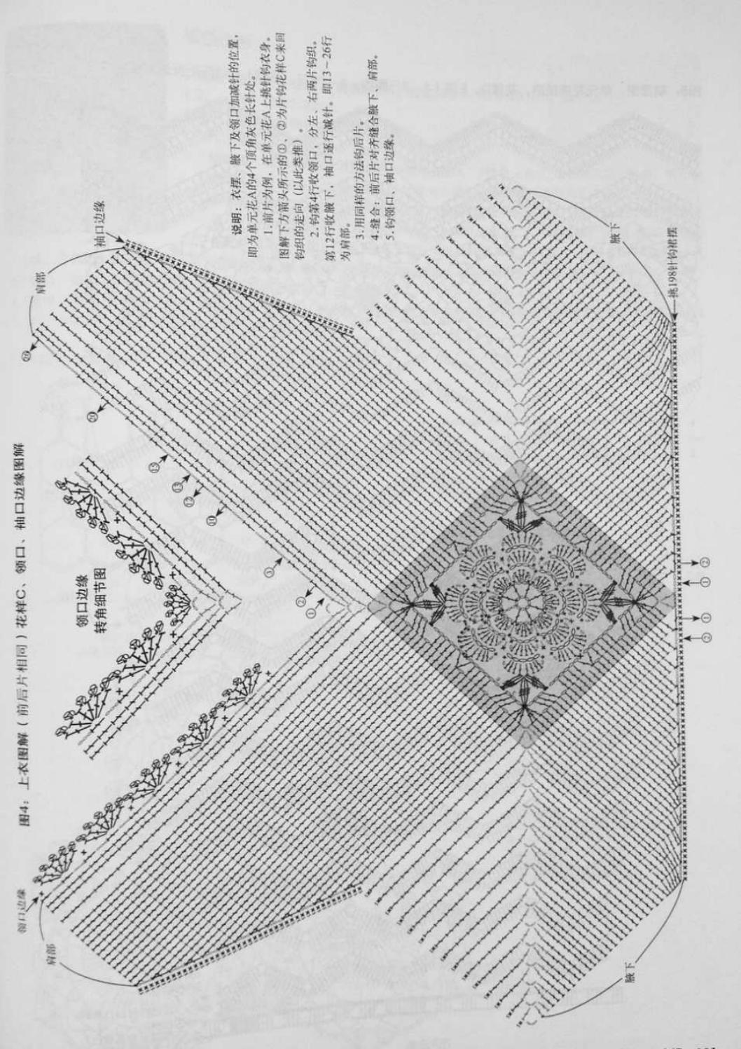 Crochet pull élégant vol 12 crochet facile page 180