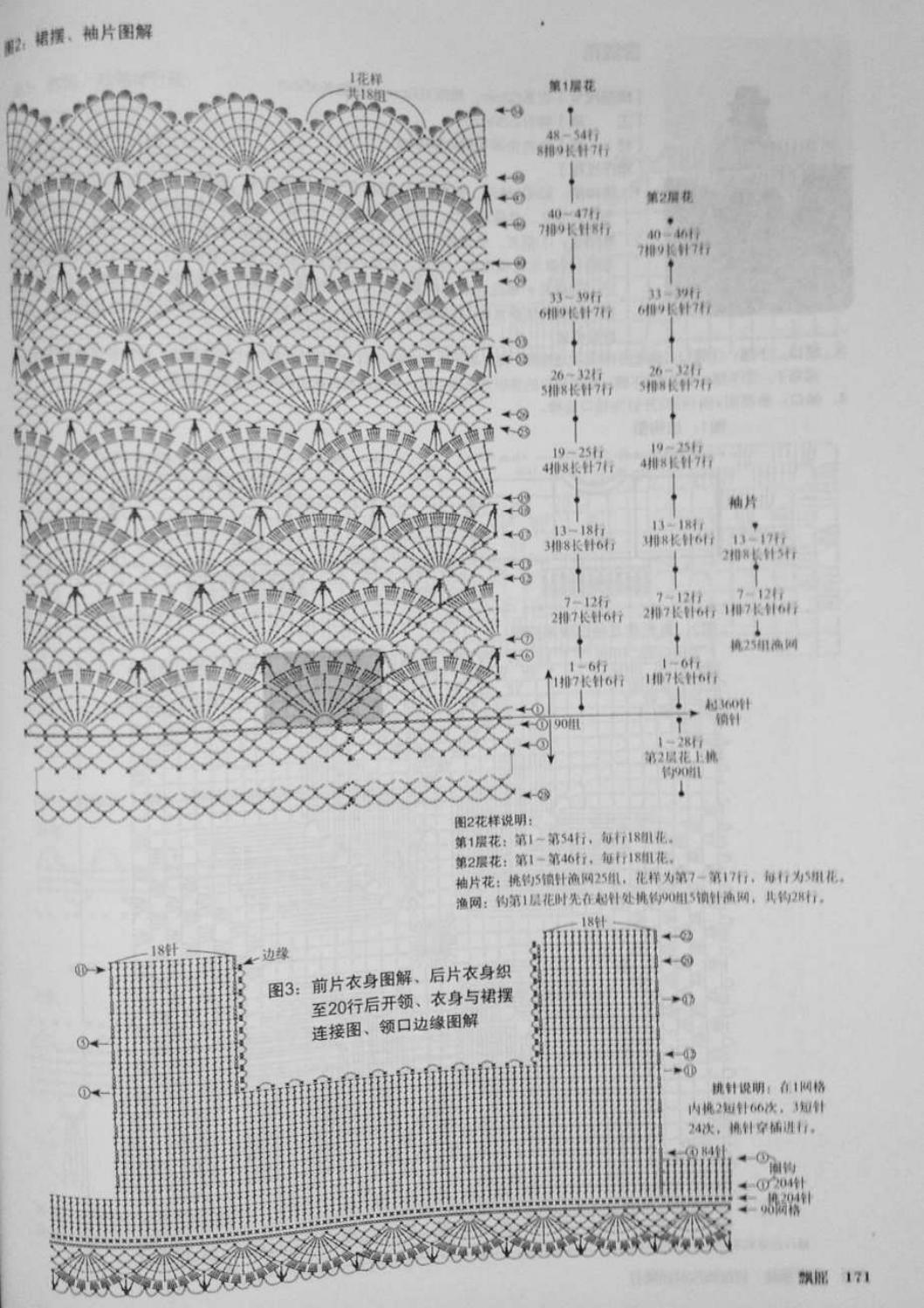 Crochet pull élégant vol 12 crochet facile page 198