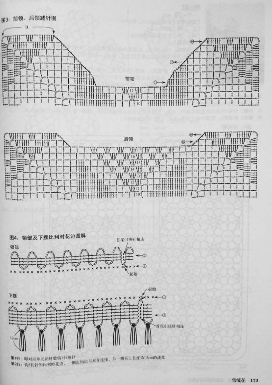 Crochet pull élégant vol 12 crochet facile page 200