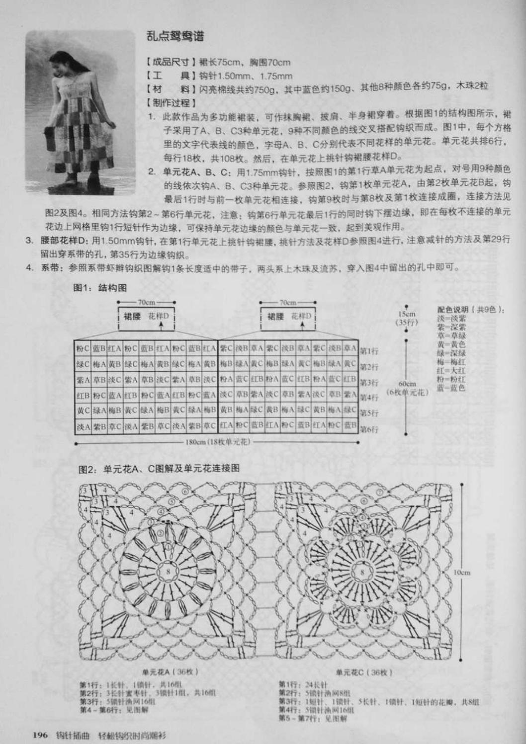 Crochet pull élégant vol 12 crochet facile page 205
