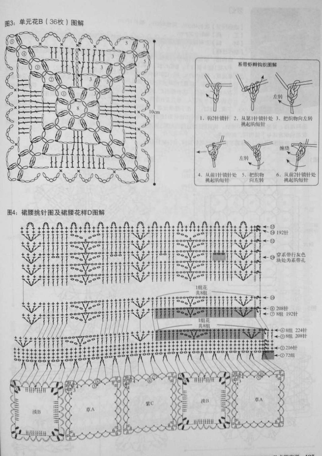 Crochet pull élégant vol 12 crochet facile page 206