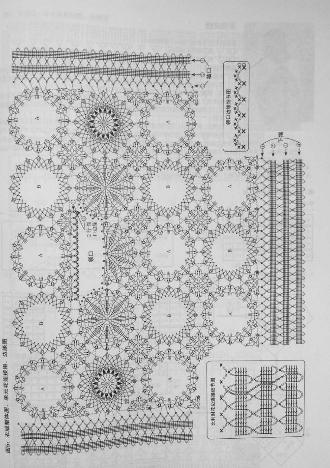 Crochet pull élégant vol 12 crochet facile page 208