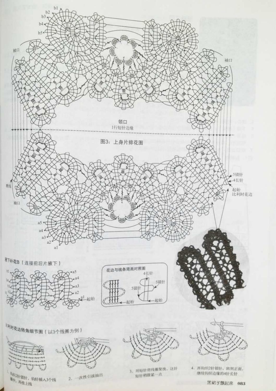 Crochet pull élégant vol 12 crochet facile page 84