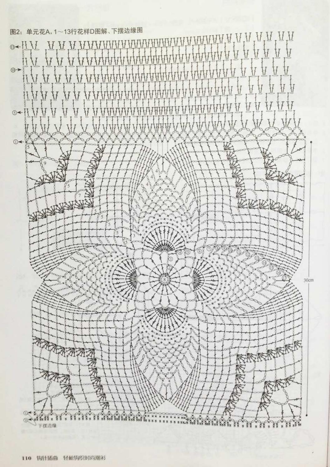 Crochet pull élégant vol 12 crochet facile page 93