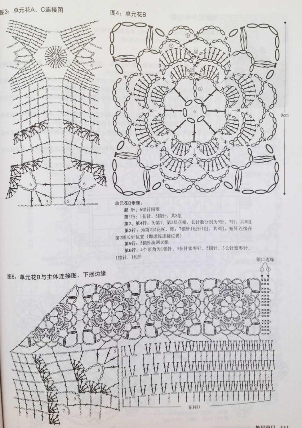 Crochet pull élégant vol 12 crochet facile page 94