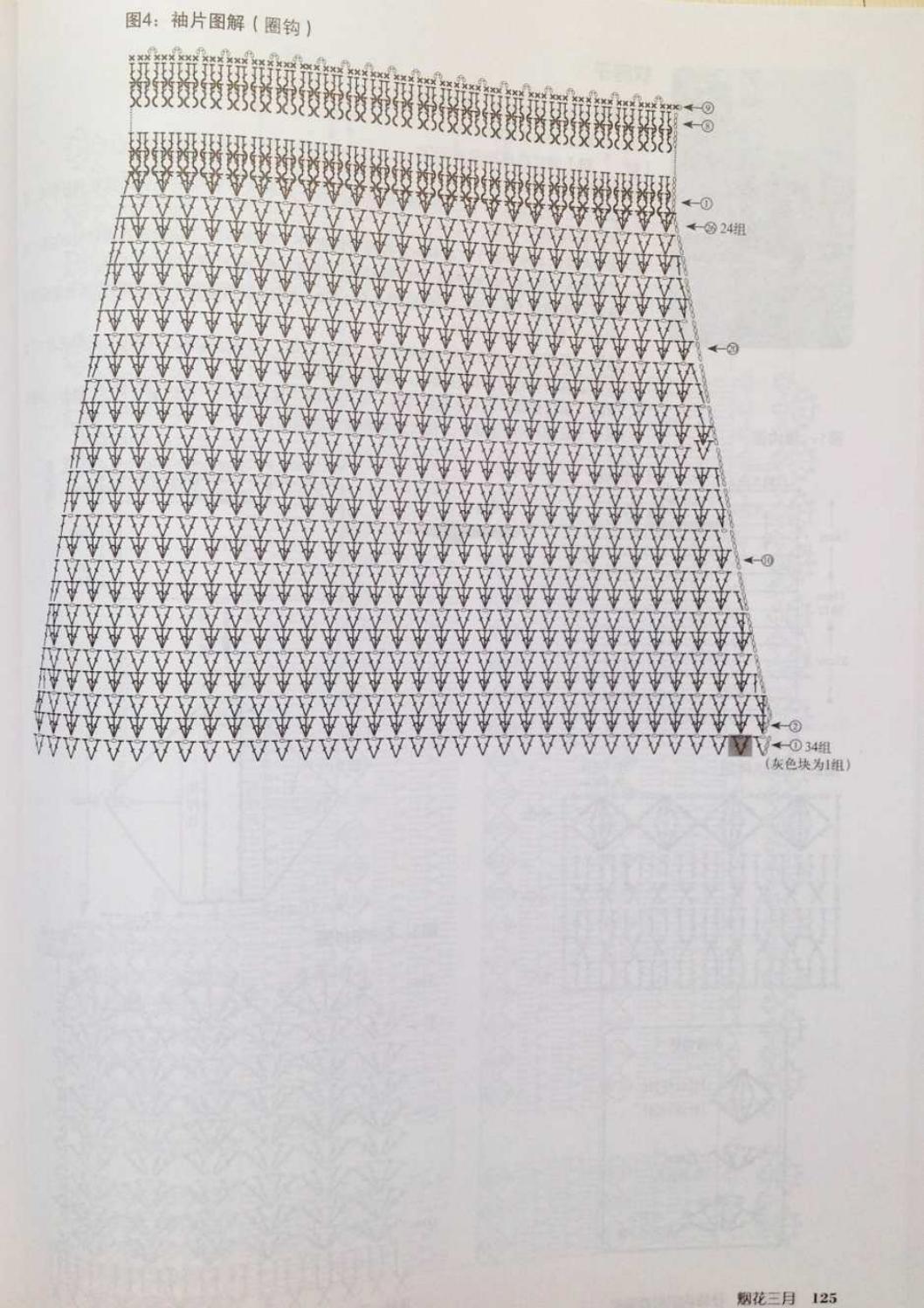 Crochet pull élégant vol 12 crochet facile page 99