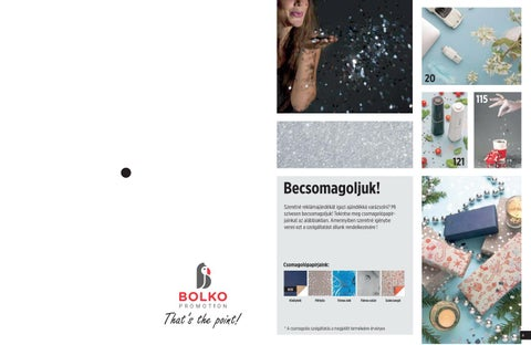 7a4b107ce697 Karácsonyi prémium by Promotion Bolko - issuu