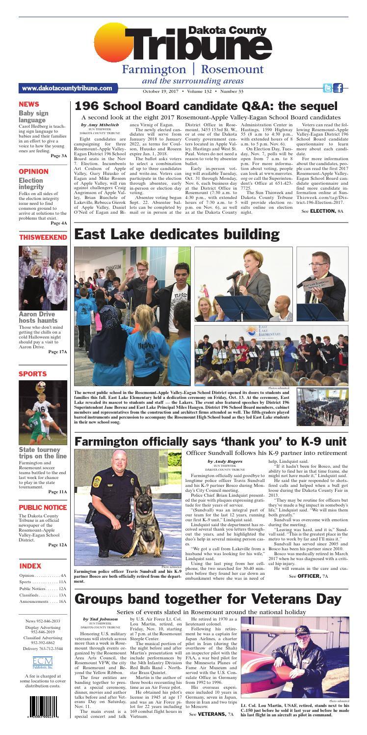 dct10 19 17 by dakota county tribune issuu rh issuu com