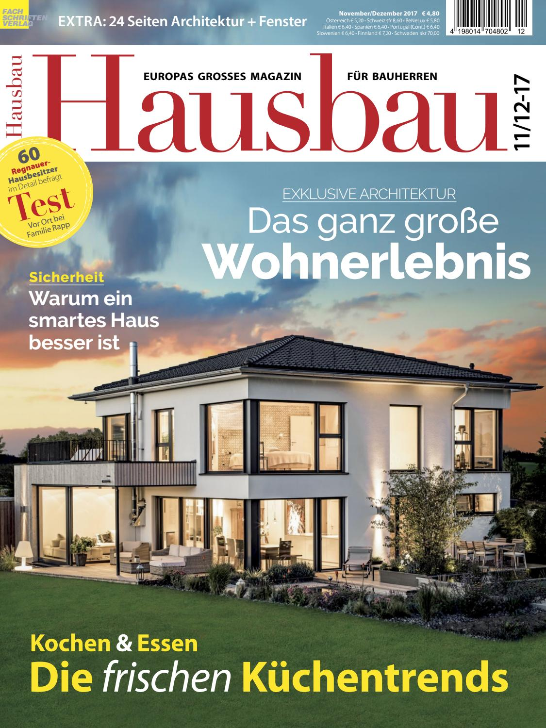 hausbau 11 12 2017 by fachschriften verlag issuu. Black Bedroom Furniture Sets. Home Design Ideas