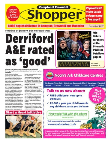 Plymouth shopper november 2017 by cornerstone vision issuu page 1 fandeluxe Image collections